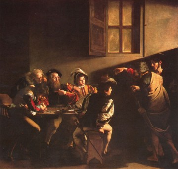 Michelangelo Merisi, dit Le Caravage, La vocation de saint Matthieu, 1600