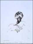 Zoran Music, lithographie extraite de la série intitulée Nous ne sommes pas les derniers, 1970