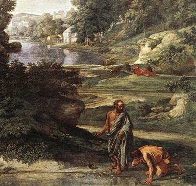 Nicolas Poussin, Paysage avec Diogène, 1647