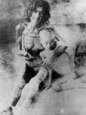 Le génocide des Arméniens, photographie datant de 1916