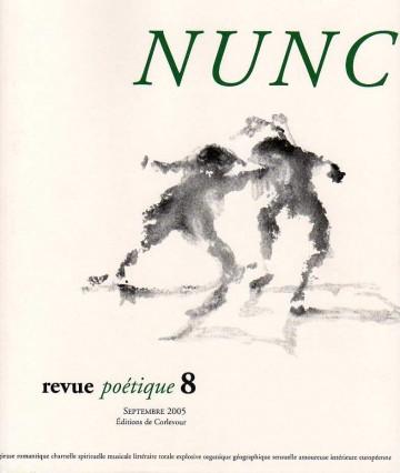 Le plus récent numéro de la revue Nunc