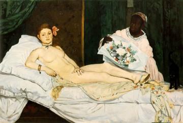 Olympia de Manet, 1863