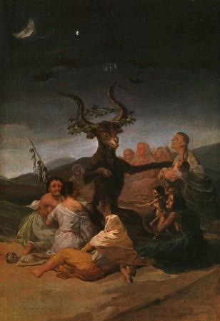 Goya, Le Sabbat des sorcières, 1798