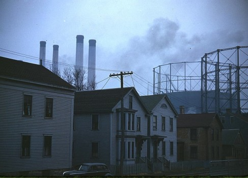 Jack Delano, Near the waterfront, New Bedford, Massassuchets, 1941