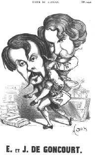Caricature par Paul Hadol parue dans L'Album du Gaulois