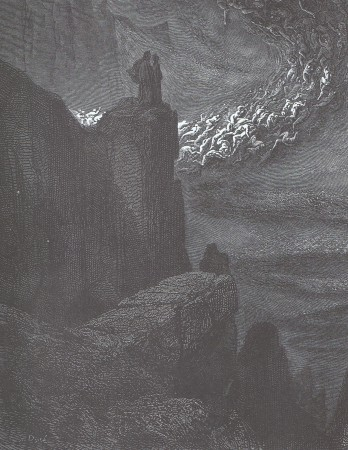 Gustave Doré, illustration pour l'Enfer de Dante, chant 5