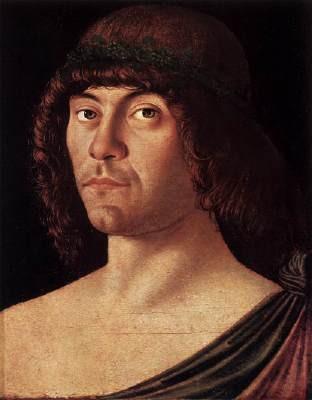 Giovanni Bellini, Portrait d'un humaniste, 1475-80