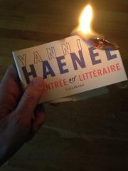 littérature,critique ,yannick haenel,philippe sollers,éditions gallimard,collection l'infini