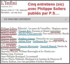 L'Infini no 116 Automne 2011 _ 5 entretiens (sic) avec Philippe Sollers.jpg