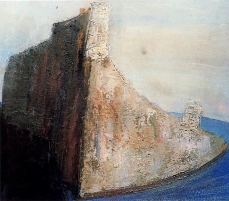 William Congdon, Santorini 10, 1955